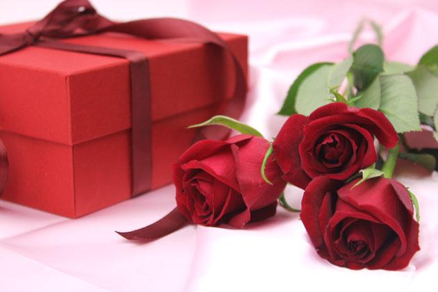 プレゼントバラ